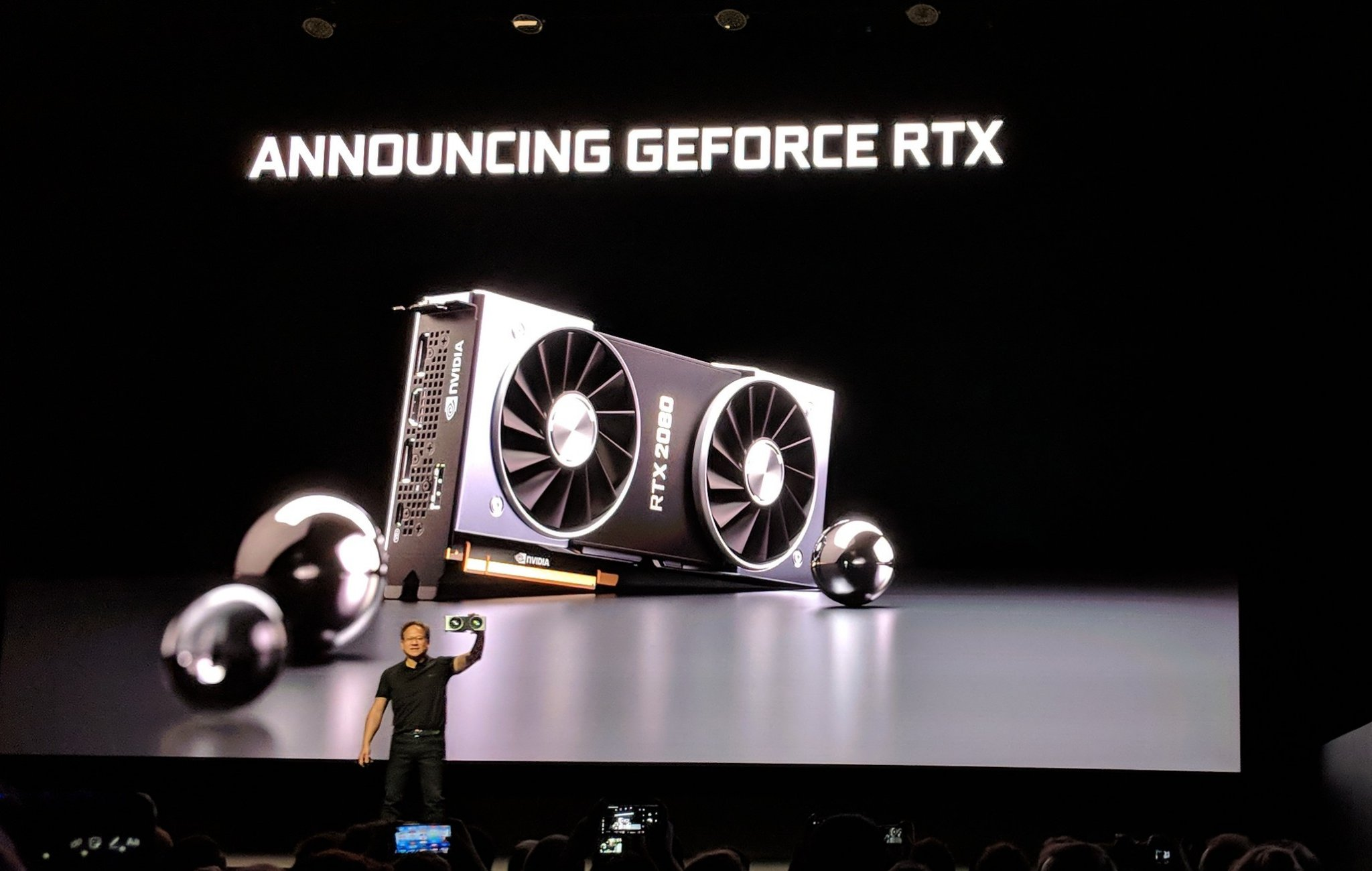 NVIDIA has been teasing us with real-time ray tracing and even games that  will support it for some time now. Today, real-time ray tracing has finally  ...