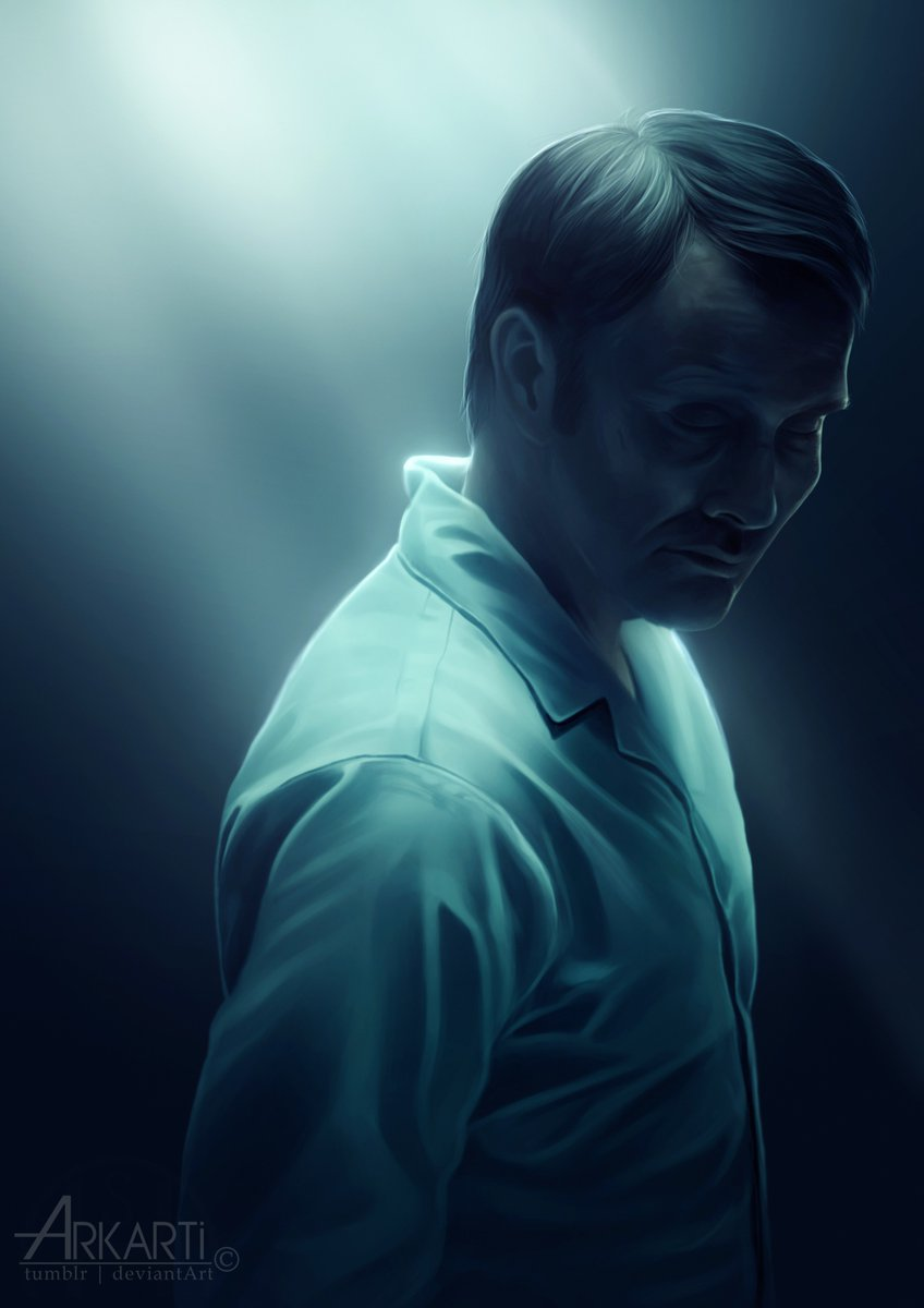 Hannibal fanart | experimenting with colors and light rays~ #hannibal #MadsMikkelsen #fanart #digitalArt<br>http://pic.twitter.com/0057sCZ6EH