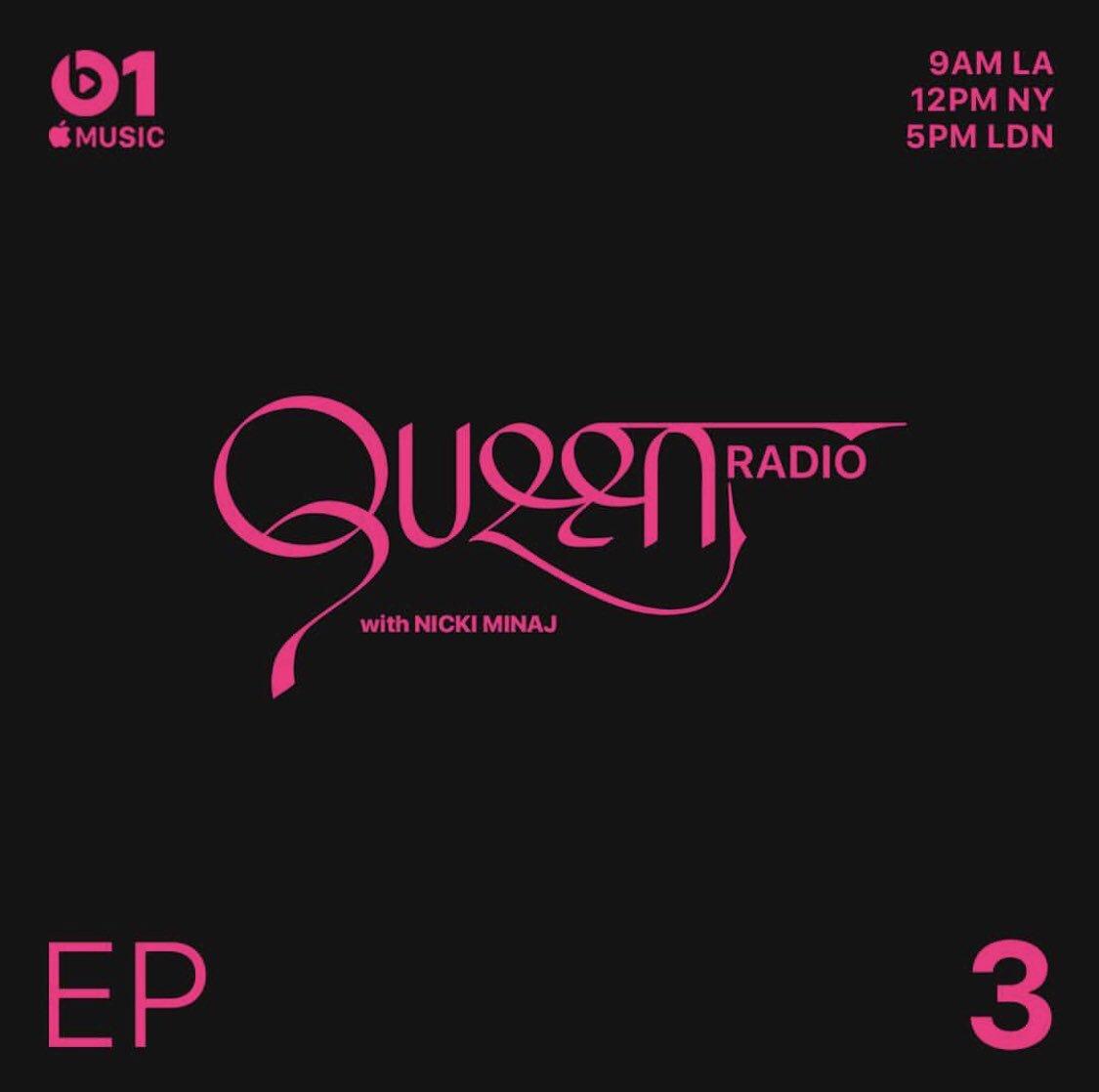 Tomorrow @ noon EST #QueenRadio @AppleMusic https://t.co/2Gi45YOodt
