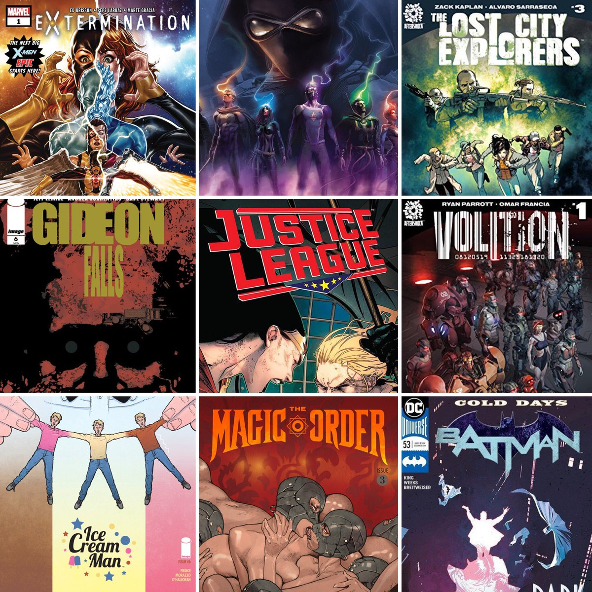 ICYMI: we reveal our Top 10 comics of the week.   #Xmen #InfinityWars #Batman #JusticeLeague #LostCityExplorers #Volition #IceCreamMan #MagicOrder #Pearl #Skyward #Crowded #Marvel #dccomics #ImageComics #Aftershock #comicbooks #PodernFamily    http:// traffic.libsyn.com/nationofnerds/ NoN-Aug16.mp3 &nbsp; … <br>http://pic.twitter.com/rIMyRmx4I4