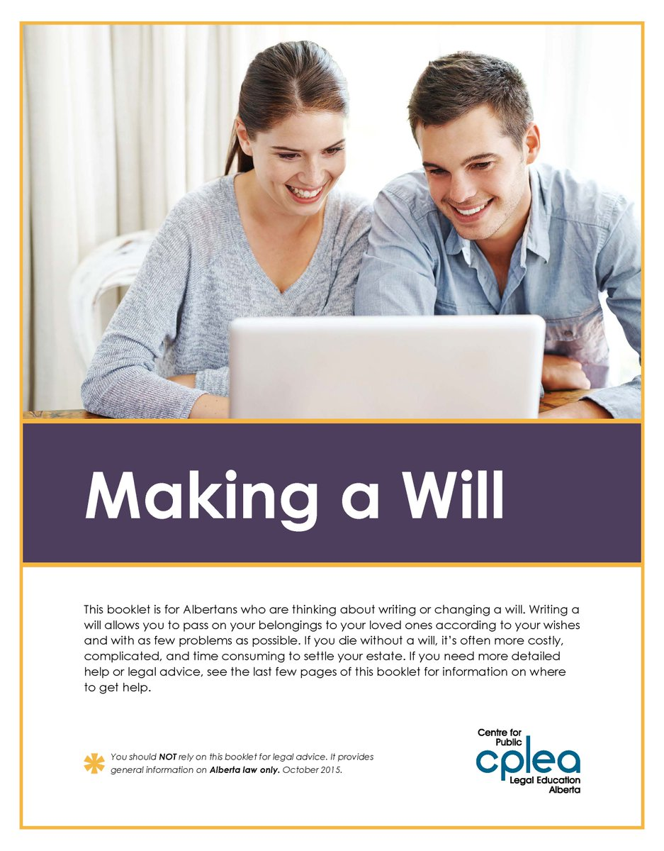Cplea cplealberta twitter a change in your will for more on wills httpscpleawp contentuploadsmakingawillpdf wills probate trustspicitteryaejcrkbmn solutioingenieria Choice Image