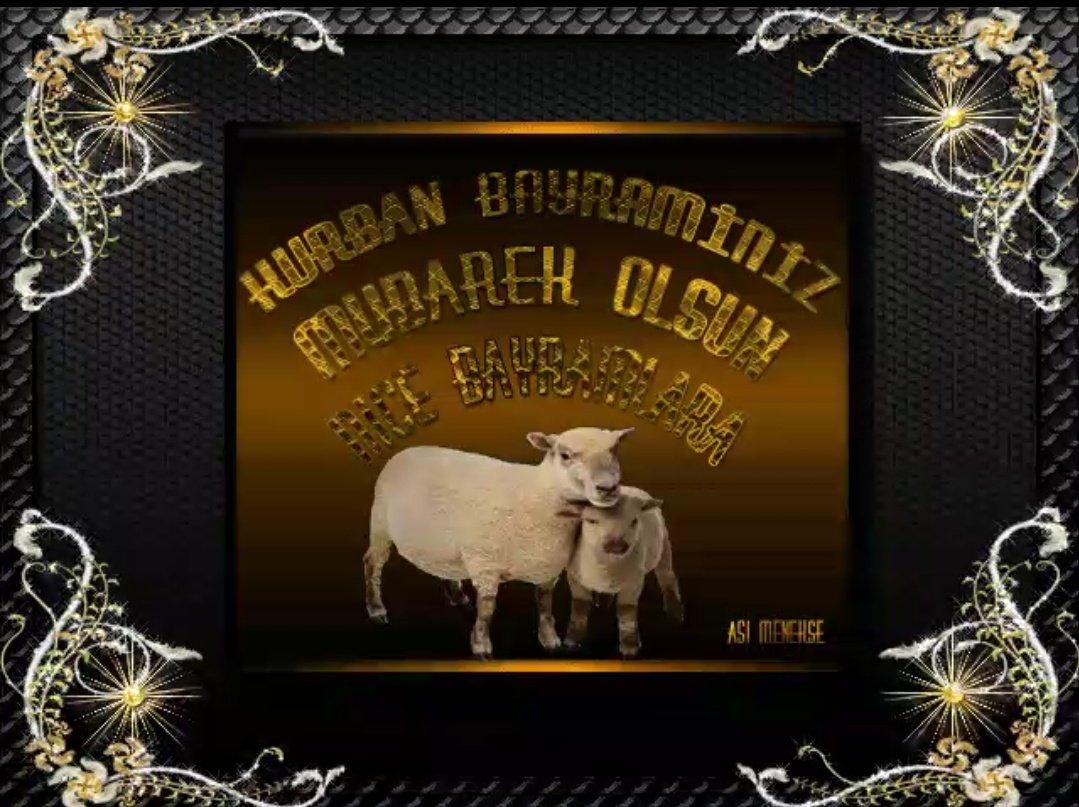 Открытки на курбан-байрам на турецком языке