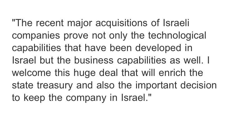 """Netanyahu exults over """"huge"""" SodaStream """"deal that will enrich the state treasury"""" without mentioning name of @SodaStreamCEO Daniel Birnbaum, who has been a sharp critic."""