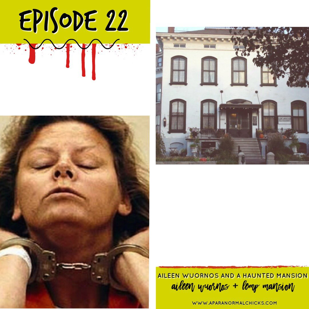 Listen to all about Aileen Wuornos and decide if she is truly a monster or not.  Also learn about a family and their legacy that might or might not be cursed. #PodernFamily #LadyPodSquad #TrueCrimePodcast #MondayMotivaton    https:// itunes.apple.com/us/podcast/a-p aranormal-chicks/id1366994353?mt=2#episodeGuid=4dd06550c720464997b0b84ef5da314d &nbsp; … <br>http://pic.twitter.com/JuXyXLRN4a