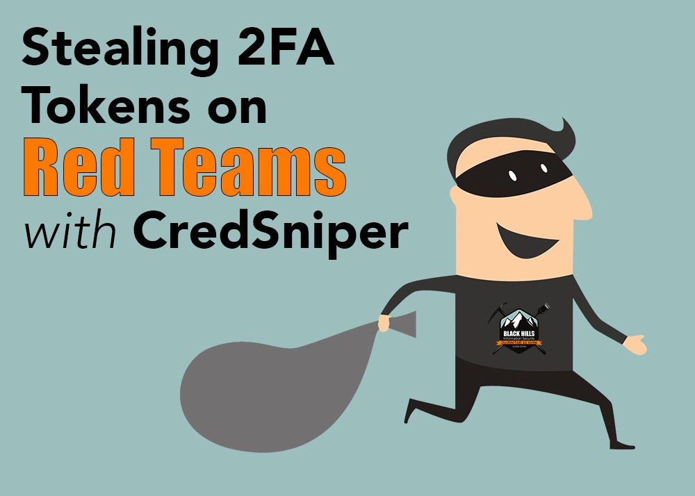 We&#39;re starting the week off on the right foot with a post from @ustayready on the #BHISblog:  https://www. blackhillsinfosec.com/stealing-2fa-t okens-on-red-teams-with-credsniper/ &nbsp; … <br>http://pic.twitter.com/eZKHvxv56j