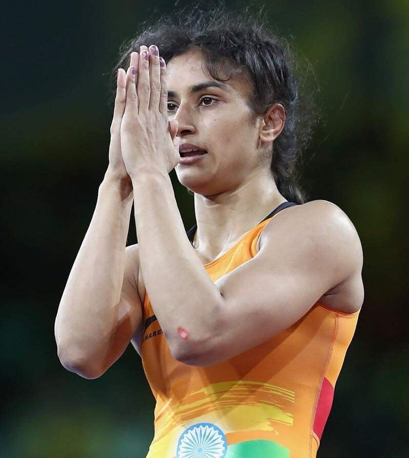 Proud of you @phogat_vinesh for winning gold in the women's freestyle 50 kg category. Our second gold medal at the Games so far. ⁠ #AsianGames2018⁠ ⁠⁠ ⁠ #VineshPhogat