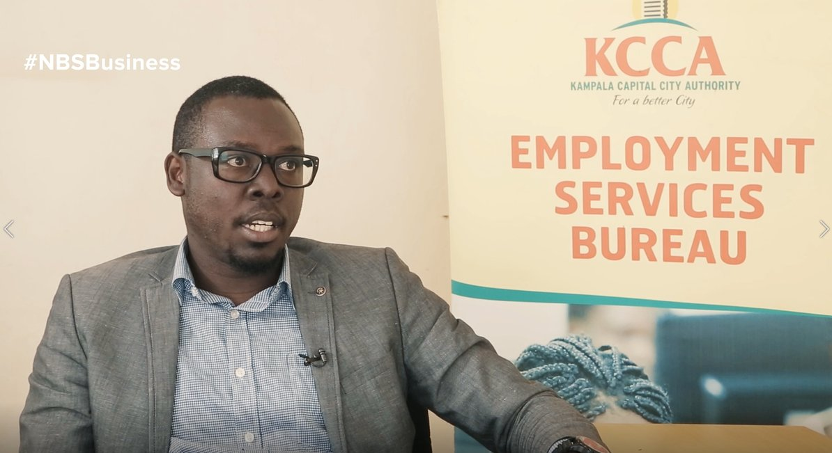 Jonathan Ebuk, Officer, Employment Services - @KCCAUG: The young don&#39;t have values because they don&#39;t have role models to look up to.  Most young people don&#39;t know who they are, we focus on self discovery.  #NBSBusiness #NBSUpdates<br>http://pic.twitter.com/9YhdzxPc1M