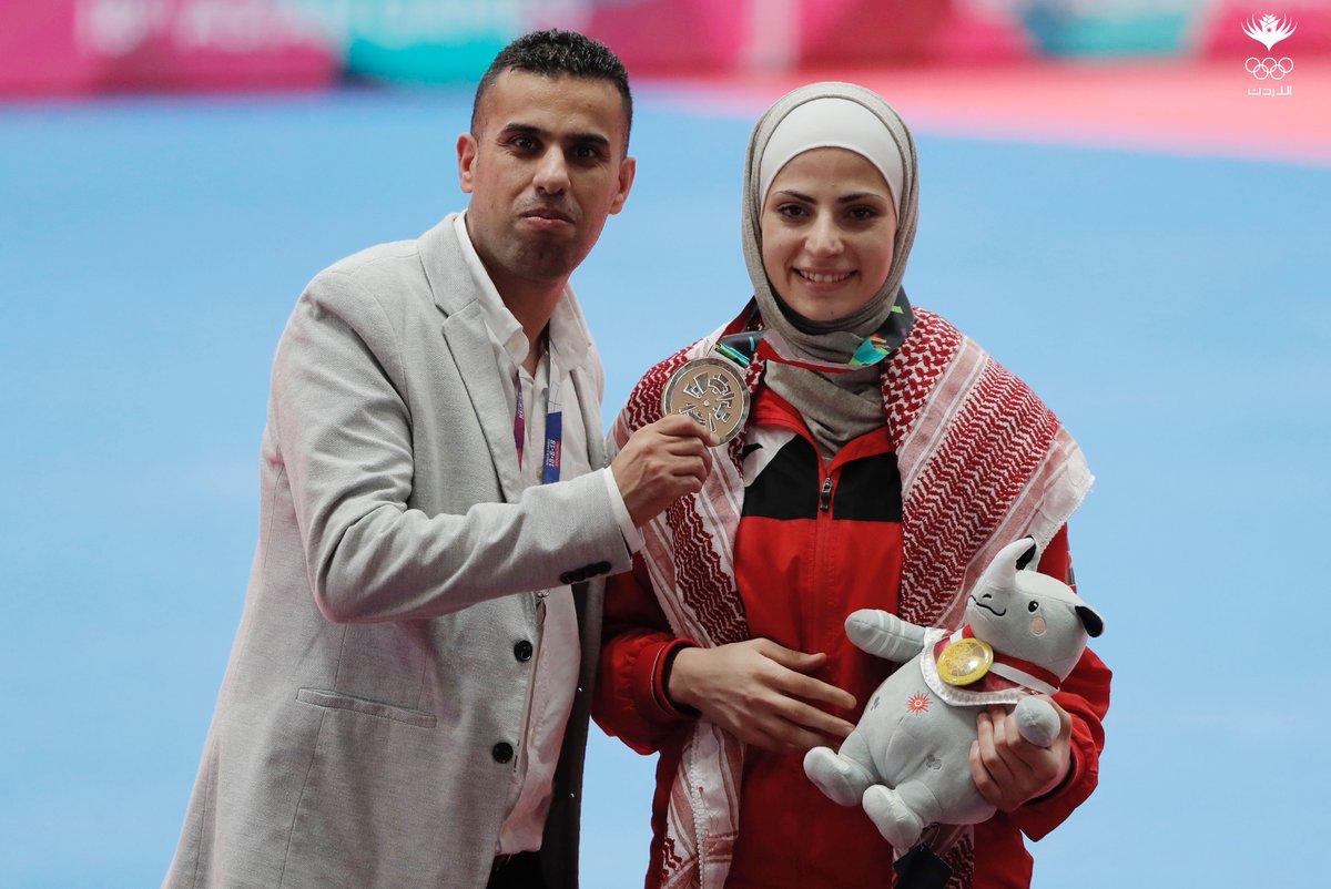 "Jordan Olympic (JOC) on Twitter: ""ASIAN GAMES GOLD FOR AL SADEQ Juliana Al  Sadeq has won gold for Jordan at the Asian Games following a superb  performance in the Taekwondo -67kg competition"