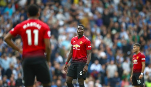 Paul Scholes on Paul Pogba: We thought Paul Pogba might be the ideal candidate to be Man Uniteds leader but he wasnt there yesterday. Hes so inconsistent.