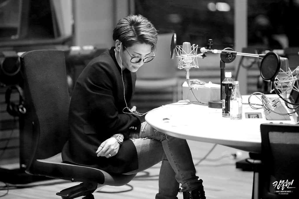 """""""When I first started doing radio I wanted to make that kind of space: a psychological space where we can be together wherever you are physically. That place, I had wished that it would be one where someone, also me, can comfortably rest in anytime.""""  cr: fantaemsie <br>http://pic.twitter.com/5YbN8refUY"""