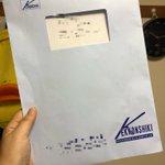 これはどう見てもコミケの封筒!コミケ風結婚式の招待状!!