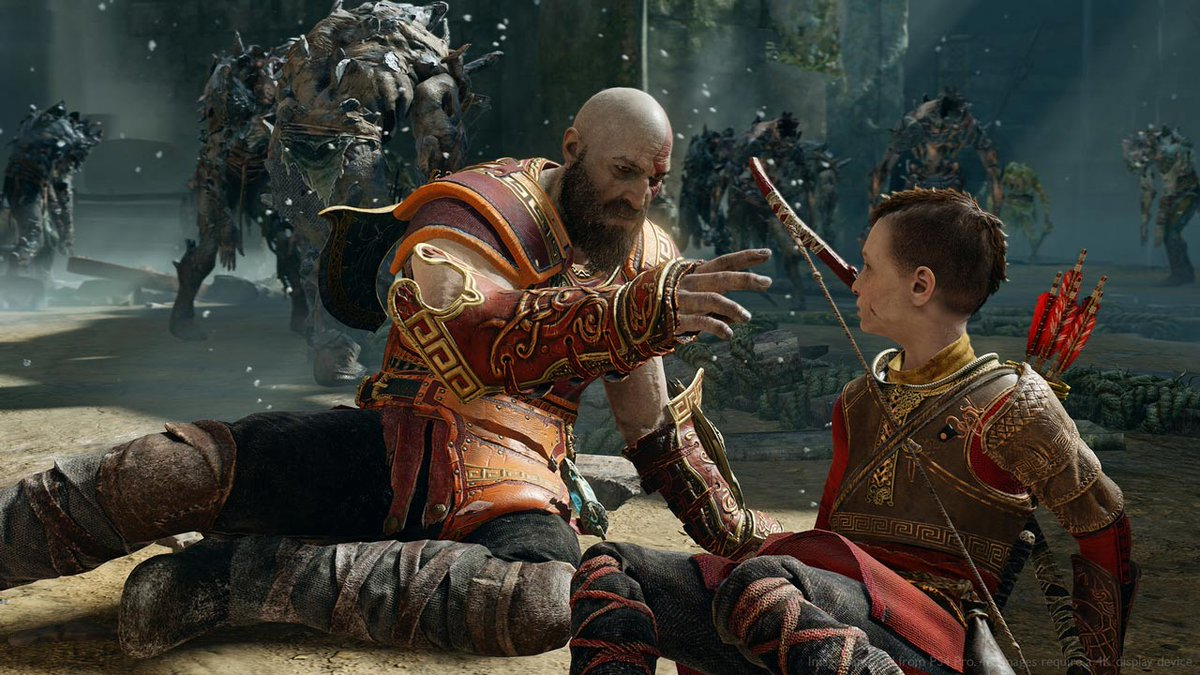 God of War's New Game Plus update hits today: https://t.co/k8q1irxNvG Let's see how you hold up against the Valkyries this time around...
