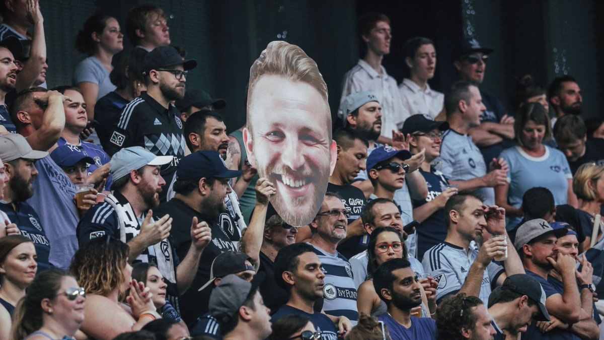 Johnny Russell: Big head. Big heart ❤️