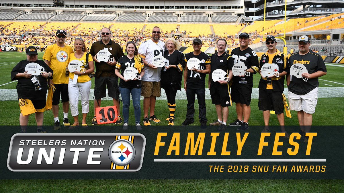 Congratulations to all of the winners in the second annual SNU Fan Awards! We were happy to recognize members of this group at last nights #FamilyFest with a special on-field presentation.