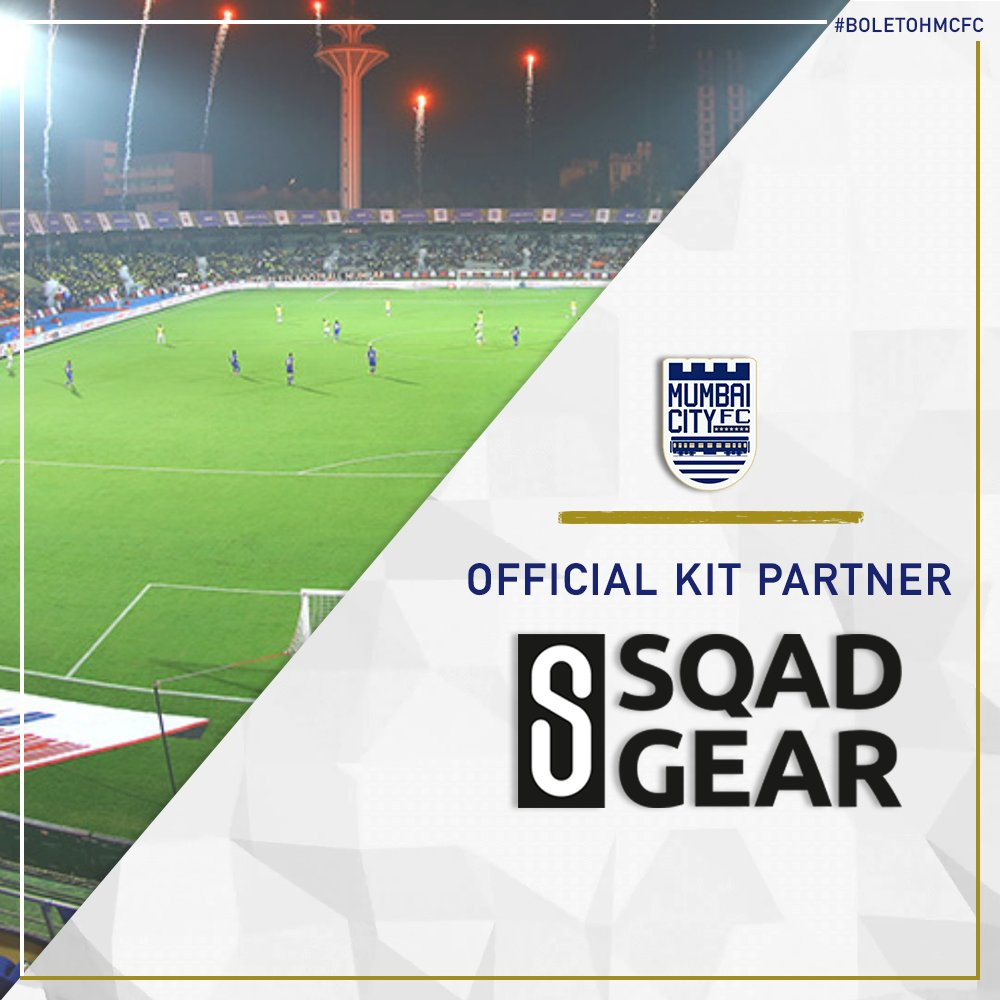 Presenting to you, our latest signing! 🥁 Welcoming on board, Sqad Gear- the official kit partner of the Islanders! 👋🏻🔵 #BoleTohMCFC