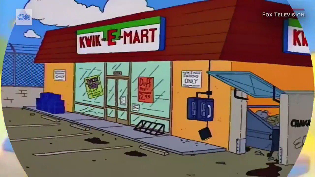 Cowabunga! A real-life Kwik-E-Mart store has opened https://t.co/ehx0INzPwx https://t.co/g3iqGu3I8o