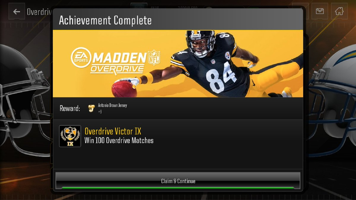 antonio brown jersey madden overdrive