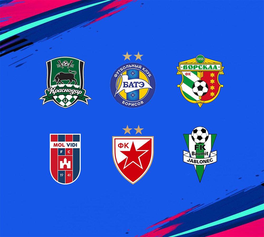 Fifanaticos On Twitter Mas Licencias Fifa19 Fc Krasnodar Vorskla Poltava Fk Jablonec Red Star Belgrade Bate Borisov Mol Vidi Fc Https T Co Ovspq1vma9