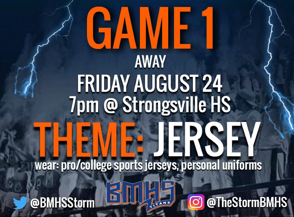THE COUNTDOWN IS REAL.  5 more days until our football opener at Pat Catan's Stadium in Strongsville.  We need EVERYONE there!  Let's set the standard for the rest of the season.  Wear your jerseys!!!<br>http://pic.twitter.com/xB8V3fvW3L