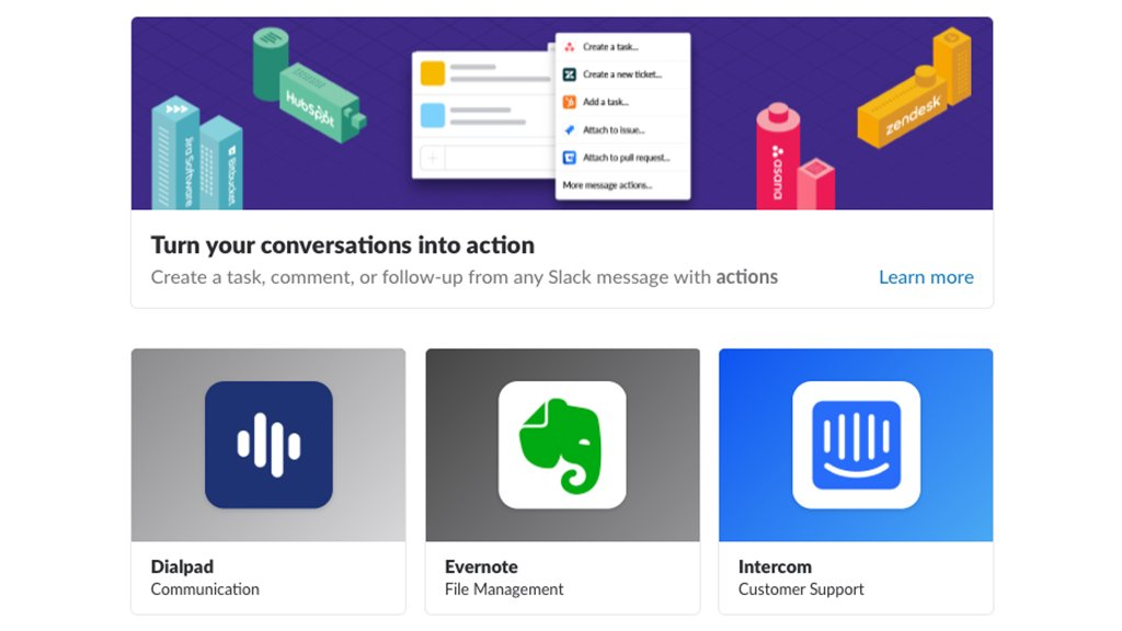 Evernote and Slack.  Name a more iconic productivity duo.   Check us out in @slackHQ&#39;s app directory! <br>http://pic.twitter.com/pba1DAIQvF
