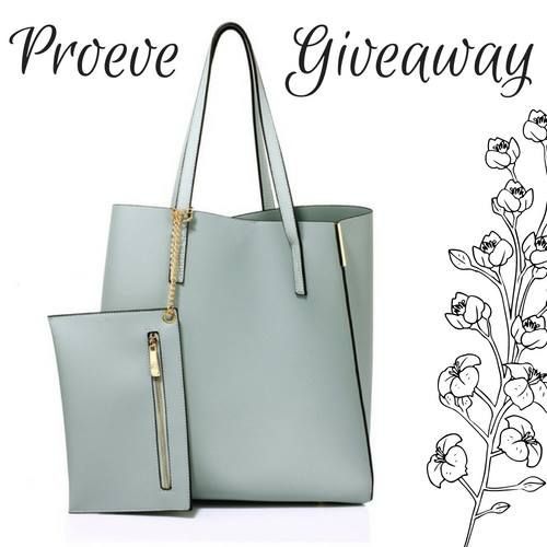 🍀Its time for another Proeve giveaway! 🍀 Weve got this delightful powder-blue tote bag on offer, so to enter all you need to do is LIKE and SHARE this post, and your name will be added to our draw. Winner will be announced on Wednesday 29th August... #winitwednesday #handbag