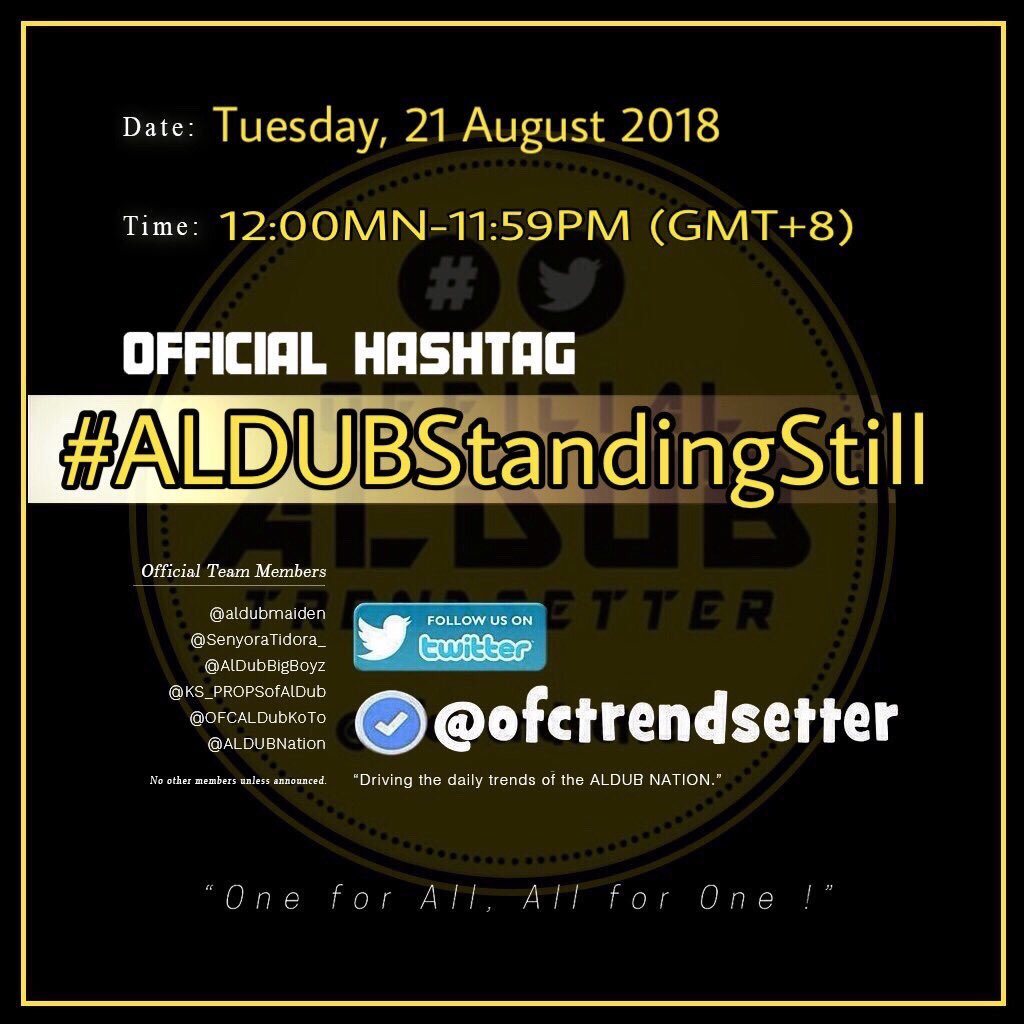 Amidst the storm I&#39;ll stand still as long as I am with you. Will never let go till our last breath cause this love will last for a lifetime.  #ALDUBStandingStill @ofctrendsetter @RealDonFraning @SenyoraTidora_ @ALDUB_inARTeam @theBatt218 @MaiChardOFC2016<br>http://pic.twitter.com/sOj7G2yzFB