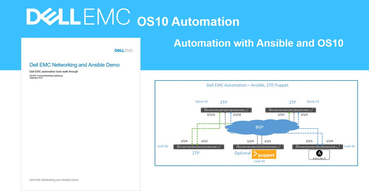 Dell EMC automation @DellEMC with Ansible continues to
