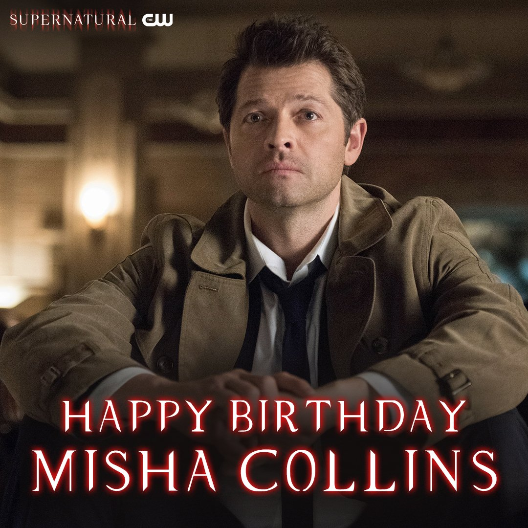 Happy Birthday, @mishacollins !