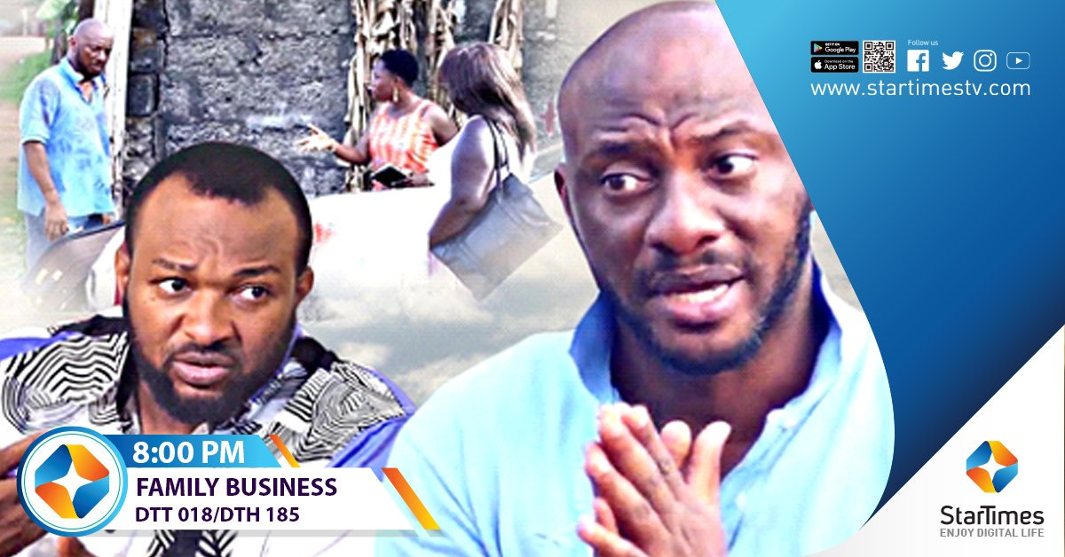 "Sometimes when children are given a chance to run family business, they ruin,but parents are loving and they do give them a second chance, watch ""Family Business"" airing tonight at 8:00PM on AMC Movies Ch.018 DTT/185 DTH. #StarTimesKe<br>http://pic.twitter.com/SIANLLl2tP"
