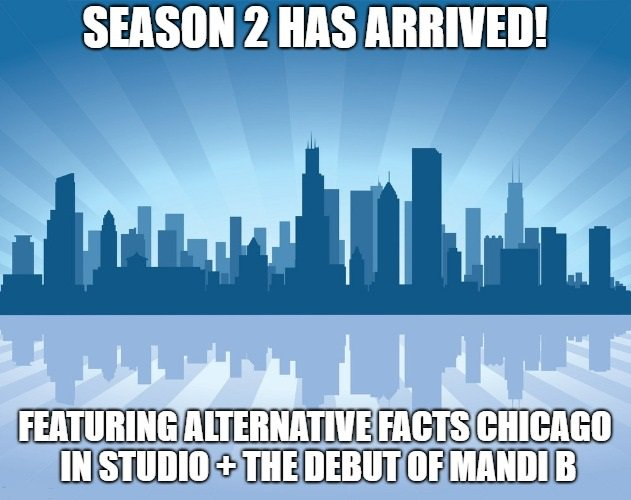 New Episode Alert! The Season 2 Premiere! @BHun1984 &amp; @starbright312 of @AFactsChicago join in on the fun. Plus, the debut of our new co-host @MandiBroniec!  LISTEN Apple -  https:// apple.co/2Eu02Kz  &nbsp;   Stitcher -  https:// bit.ly/2FRHcMx  &nbsp;   Spotify -  https:// spoti.fi/2GbxglN  &nbsp;    #podernfamily <br>http://pic.twitter.com/l91gstC3V3