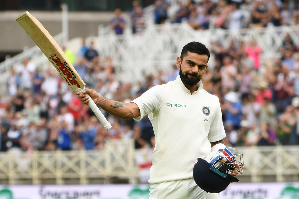 #KingKohli scores 23rd Century as India is smelling a Victory at Trent Bridge