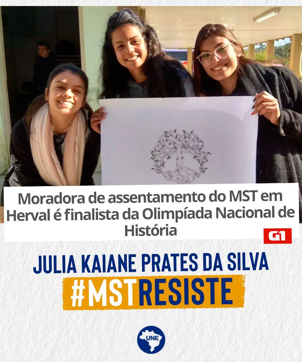 Parabéns Julia! 💪🏽 Leia: https://t.co/W7W9Ijo4V9 #MSTResiste