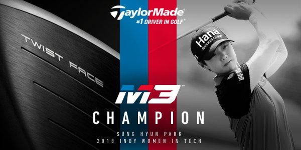 Champion — Sung Hyun Park | 2018 #IWiTCHAMP | Brickyard Crossing Golf Course. #TwistFace #M3driver #1DriverinGolf