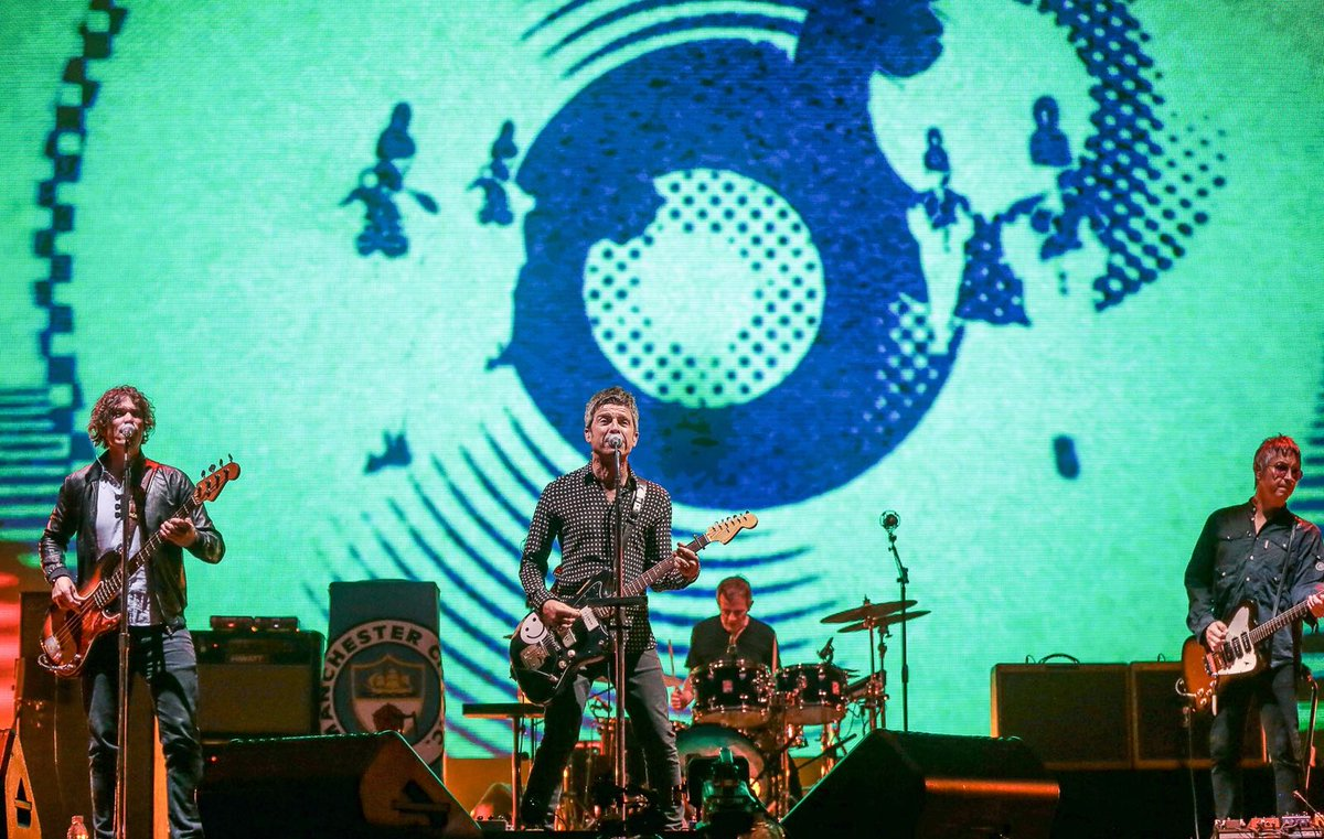 Noel Gallagher&#39;s High Flying Birds headlining Tokyo&#39;s @summer_sonic Festival, 18th August, 2018. Photos: @snappershaz<br>http://pic.twitter.com/0zwazRV0cF