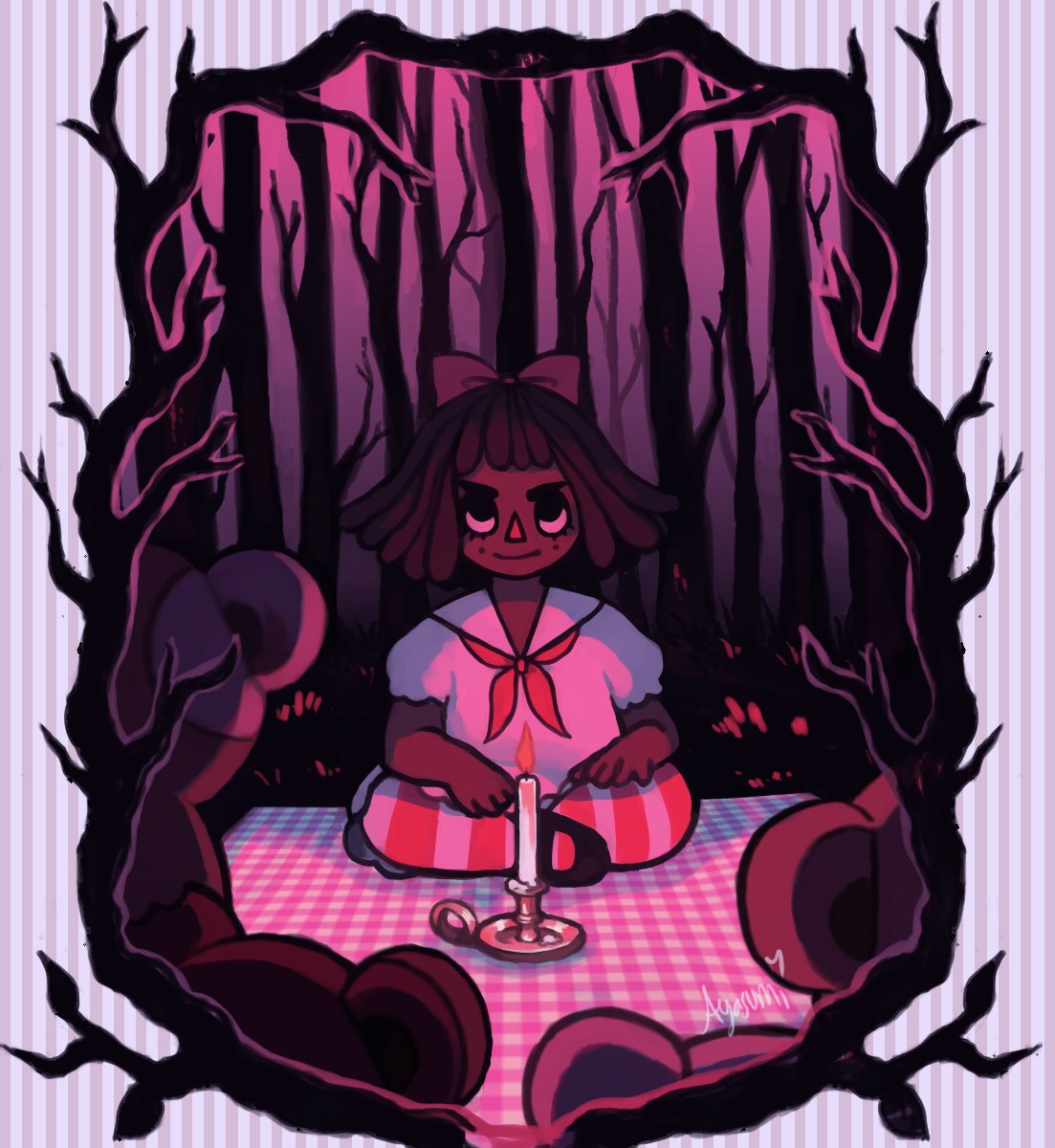 #VisibleWomen  Hi! My name is Aya! I&#39;m a 20-year-old lesbian from the UK currently going into my second year of studying animation. I love all things cute and a tiny bit sinister. &gt;:^) <br>http://pic.twitter.com/MAqWMcZTSY
