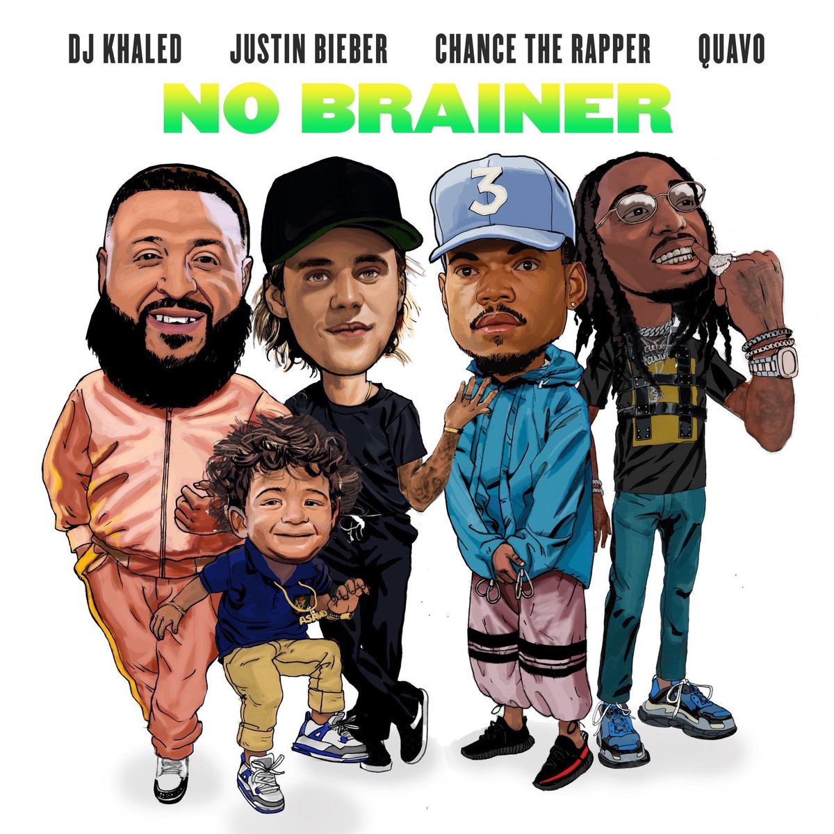 No Brainer by DJ Khaled ft Justin Bieber, Chance the Rapper and Quavo rises from #11 to #10 on the Billboard Hot 100 chart this week. <br>http://pic.twitter.com/MBBMFe2M7p