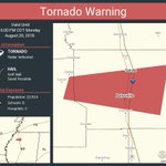 Image for the Tweet beginning: Tornado Warning including Batesville MS,