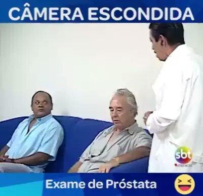 pegadinha do exame de próstata