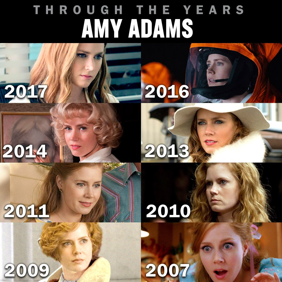Happy birthday to Amy Adams, which is your favorite of her films?