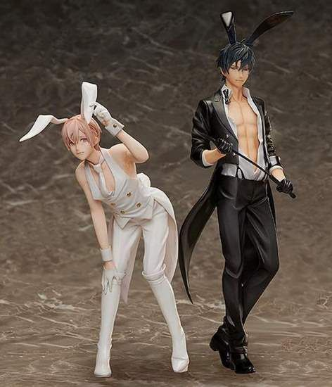 Order the first release of the new figurines for #TenCount's#Kurose! The figurines feature the B-Style designs featuring them both in bunny suits (and tails) with #Shirotani being released later!Pre-order today~ Release Date: May 2019 buff.ly/2vSavw6