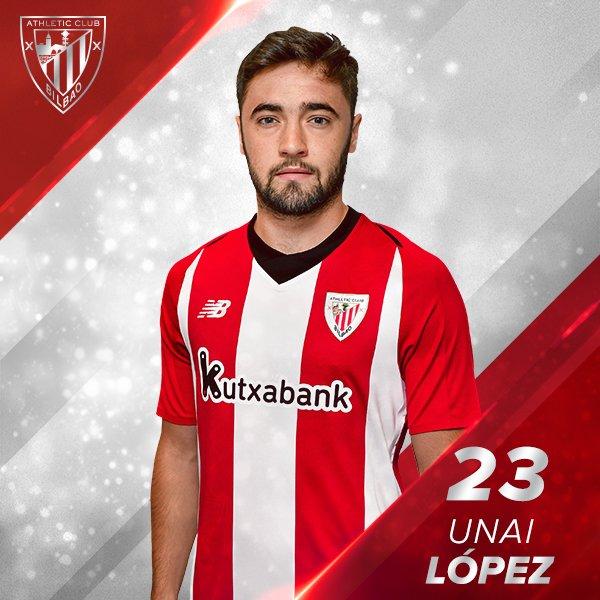 Maillot Extérieur Athletic Club Unai López