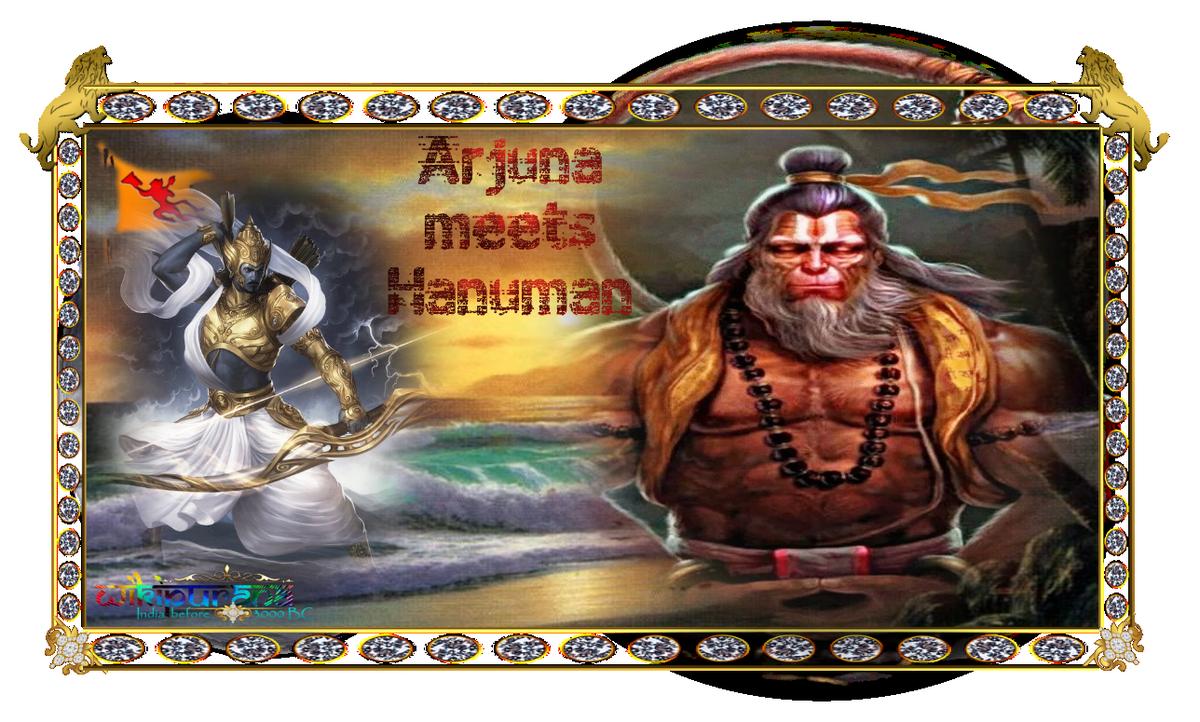 hanuman in mahabharata