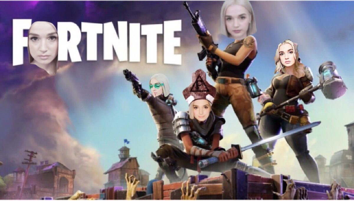 Fortnite but everyone is @poppy <br>http://pic.twitter.com/UlBRfPsoDz