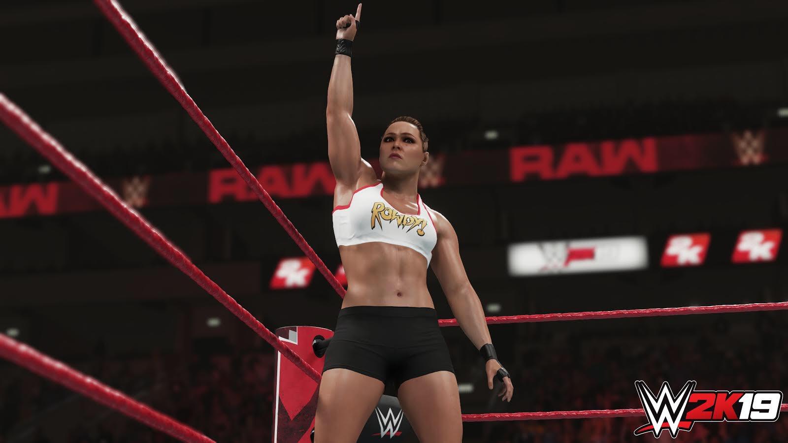 WWE 2K19 : 2K DÉVOILE UN SCREEN DE RONDA ROUSEY DlEWVVoWwAAZnab
