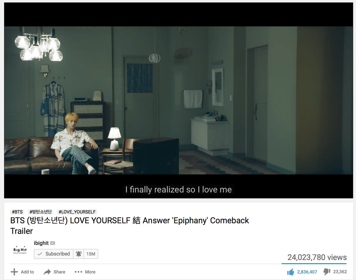 Stream #Epiphany we&#39;re close to our goal of 30M! @BTS_twt   https:// youtu.be/fIkZOLsnoqY  &nbsp;  <br>http://pic.twitter.com/qHJudUmcQ0