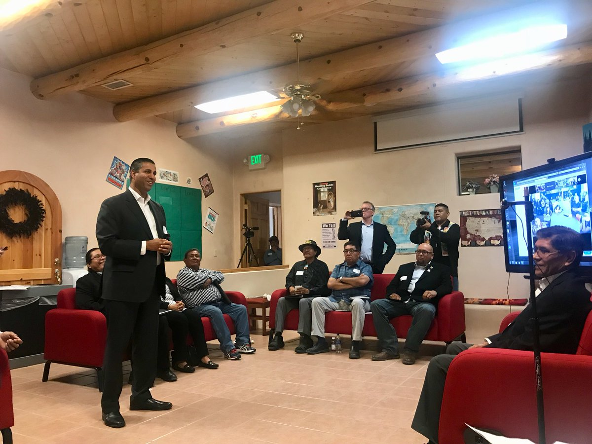 Big win for #TribalBroadband. Congrats to Jemez, Zia & Santa Ana Pueblos on expanding #InternetAccess in Tribal communities:
