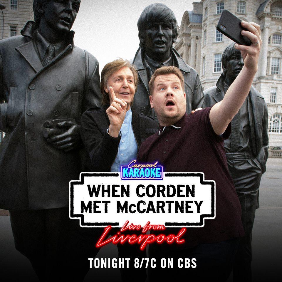 Imdb Partner On Twitter Watch Carpool Karaoke When Corden Met