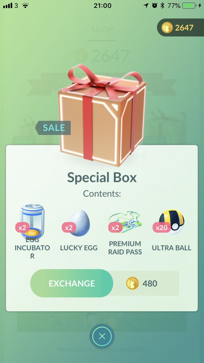 Serebii Update: These three boxes are now available in Pokémon GO serebii.net/index2.shtml