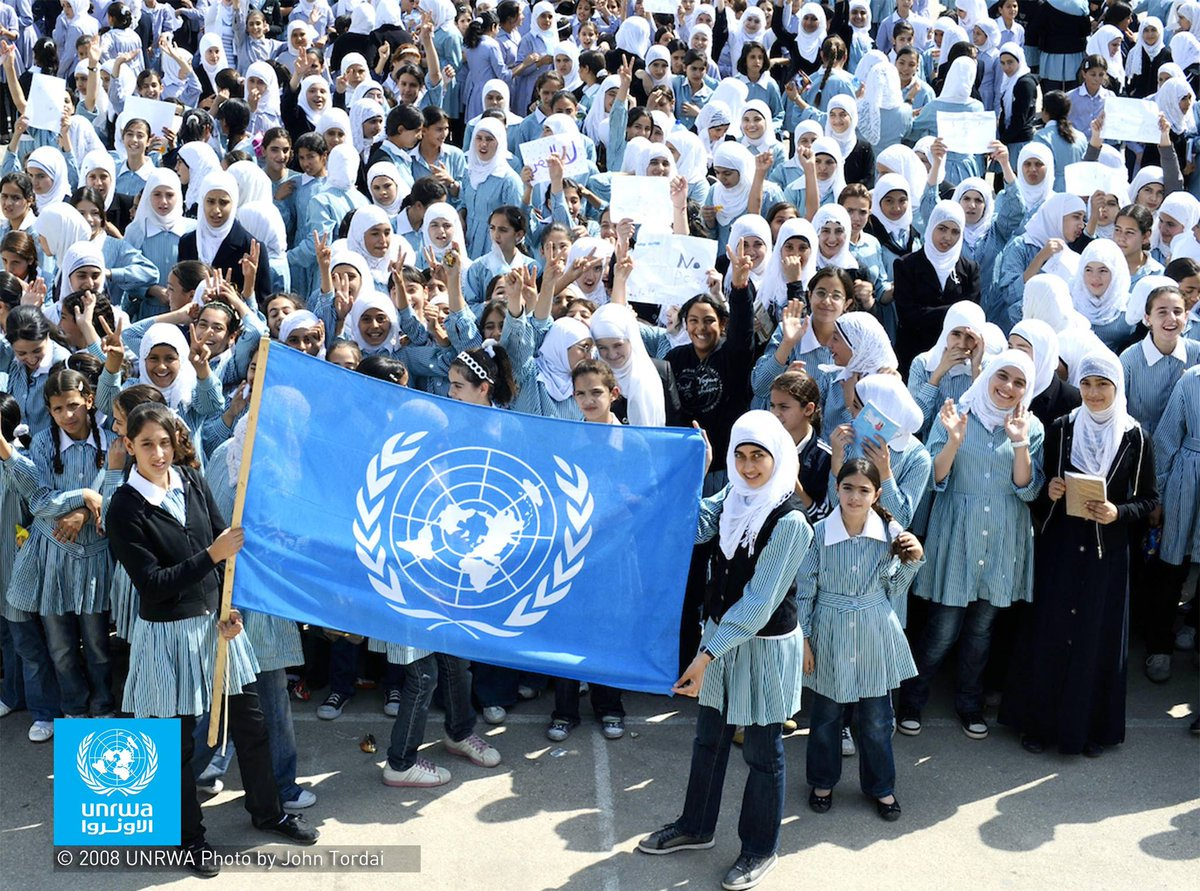 .@UNRWA provides assistance & protection 5M+ Palestine refugees. Its facing a serious financial crisis & only has enough money for operations until end of Sept. Here's how you can help: unrwa.org