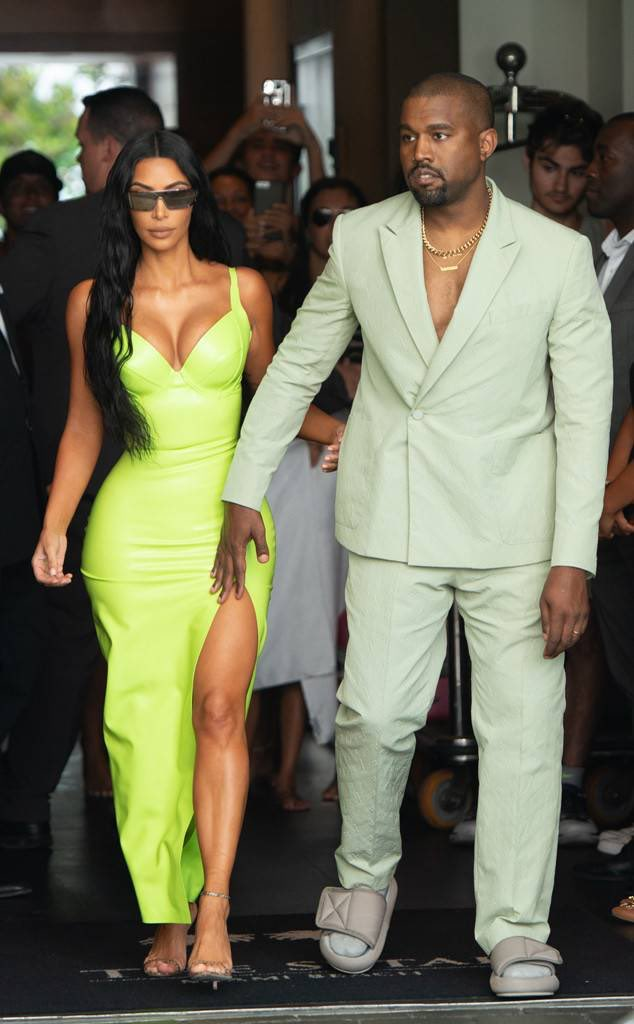 Kanye West and Kim K attending 2Chainz's wedding